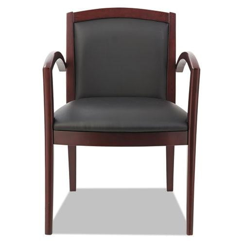 Arch Back Solid Wood Guest Chair See Office Furniture desks, chairs, and more at officefurnitureusa.store.