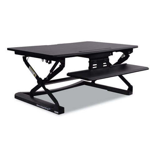 Sit-Stand Lifting Workstation See Office Furniture desks, chairs, and more at officefurnitureusa.store.