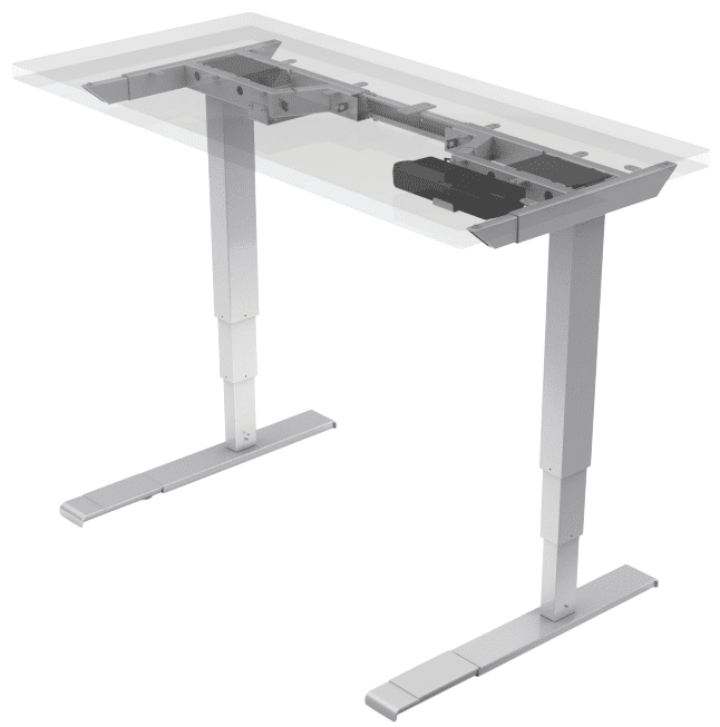 Lifetime Warranty Sit to Stand Desktop Workstation See Office Furniture desks, chairs, and more at officefurnitureusa.store.
