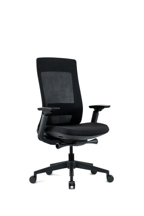 Lifetime Warranty high back executive Multi-Function task chair with adjustable arms See Office Furniture desks, chairs, and more at officefurnitureusa.store.