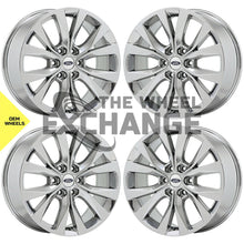 "Load image into Gallery viewer, 20"" Ford F150 Truck PVD Chrome wheels rims Factory OEM 10003 EXCHANGE"