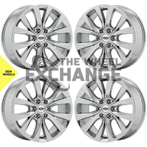 "20"" Ford F150 Truck PVD Chrome wheels rims Factory OEM 10003 EXCHANGE"