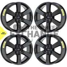 "Load image into Gallery viewer, 20"" Ford F150 truck PVD Black Chrome wheels rims Factory OEM 10005 EXCHANGE"
