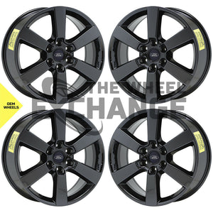 "20"" Ford F150 truck PVD Black Chrome wheels rims Factory OEM 10005 EXCHANGE"
