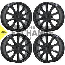 "Load image into Gallery viewer, 19"" Lincoln Continental black wheels rims Factory OEM set 4 10089"