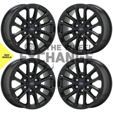 "Load image into Gallery viewer, 18"" Ford F150 Truck Black wheels rims Factory OEM 2018-2020 set 10169"