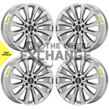 "Load image into Gallery viewer, 22"" Lincoln Navigator PVD Chrome wheels rims Factory OEM 10177 EXCHANGE"