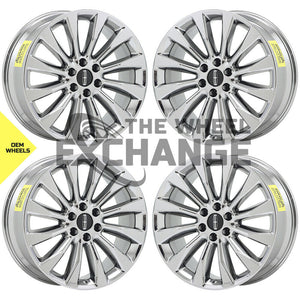 "22"" Lincoln Navigator PVD Chrome wheels rims Factory OEM 10177 EXCHANGE"