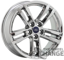 "Load image into Gallery viewer, 18"" Ford Explorer PVD Chrome wheels rims Factory OEM 2020 2021 set 4 10266"