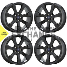 "Load image into Gallery viewer, 21"" Ford Explorer ST Black wheels rims Factory OEM 2020-2021 set 10271 EXCHANGE"