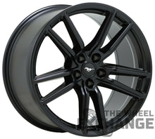 "Load image into Gallery viewer, 20x11 Ford Mustang GT500 black wheels rims Factory OEM 2020 2021 20"" set 4"