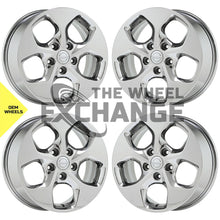 "Load image into Gallery viewer, 17"" Chrysler Town Country PVD Chrome wheels rims Factory OEM set 4 2590"