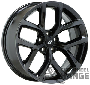 "20"" Charger Challenger Black Chrome wheels rims Factory OEM 2652 EXCHANGE"