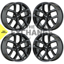 "Load image into Gallery viewer, 20"" Charger Challenger Black Chrome wheels rims Factory OEM 2652 EXCHANGE"
