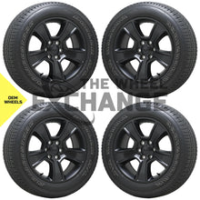 "Load image into Gallery viewer, 20"" Dodge Ram 1500 Truck black wheels tires Factory OEM set 2019 2020 2021 2676"
