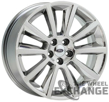 "Load image into Gallery viewer, 20"" Ford Edge Flex PVD Chrome wheels rims Factory OEM set 4 3771"
