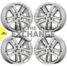 "Load image into Gallery viewer, 18"" Ford Explorer PVD Chrome wheels rims Factory OEM 3859 EXCHANGE"