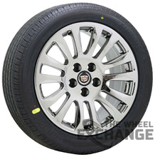 "Load image into Gallery viewer, 18"" Cadillac CTS sedan PVD Chrome wheels rims tires Factory OEM set 4 4669"
