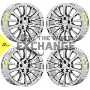 "19"" Cadillac CT6 PVD Chrome wheels rims Factory OEM 4762 EXCHANGE"