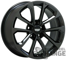 Load image into Gallery viewer, 18x9 18x9.5 Cadillac ATS-V Black Chrome wheels Factory OEM GM 4766 4768 EXCHANGE