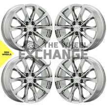 "Load image into Gallery viewer, 19"" Cadillac CT5 V-Series PVD Chrome wheels rims Factory OEM 2020 2021 set 4839"