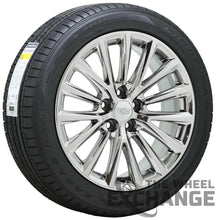 "Load image into Gallery viewer, 19"" Cadillac CT6 XTS PVD Chrome wheels rims tires Factory OEM set 4 4842"