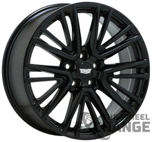 "Load image into Gallery viewer, 20"" Cadillac CT5 Black wheels rims Factory OEM 2020 2021 set 4 4843"