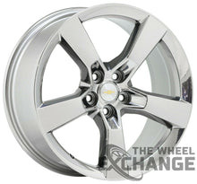 Load image into Gallery viewer, 20x8 20x9 Camaro SS PVD Chrome wheels rims Factory OEM GM set 4 5443 5445
