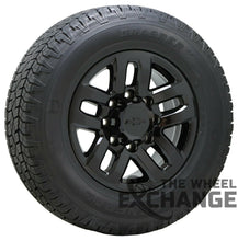 "Load image into Gallery viewer, 18"" Chevrolet Silverado 2500 3500 Black wheels rims tires Factory OEM set 4 5709"