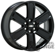 "Load image into Gallery viewer, 20"" Chevrolet Blazer black wheels rims Factory OEM 2019 2020 2021 GM set 4 4800"