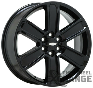 "20"" Chevrolet Blazer black wheels rims Factory OEM 2019 2020 2021 GM set 4 4800"