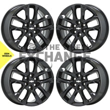 "Load image into Gallery viewer, 18"" Chevrolet Traverse Black wheels rims Factory OEM 2018 2019 2020 set 4 5843"