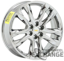 "Load image into Gallery viewer, 20"" Chevrolet Traverse Blazer PVD Chrome wheels rim Factory OEM set 4 5847"