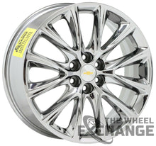 "Load image into Gallery viewer, 20"" Buick Enclave Traverse PVD Chrome wheels rims tires Factory OEM GM set 5852"