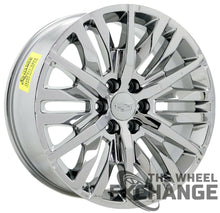 "Load image into Gallery viewer, 22"" Cadillac Escalade PVD Chrome wheels rims Factory OEM 2019 2020 set 4 5921"