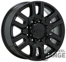 "Load image into Gallery viewer, 20"" Sierra Silverado 2500 3500 Black wheels rims Factory OEM 2020 2021 set 5950"
