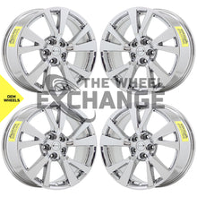 "Load image into Gallery viewer, 18"" Nissan Maxima Bright DuraChrome wheels rims Factory OEM set 4 62721"