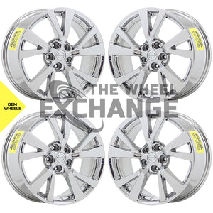 "18"" Nissan Maxima Bright DuraChrome wheels rims Factory OEM set 4 62721"