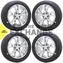 "Load image into Gallery viewer, 18"" Nissan Maxima PVD Chrome wheels rims tires Factory OEM set 4 62721"