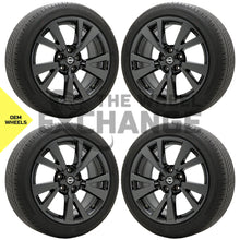 "Load image into Gallery viewer, 18"" Nissan Maxima Black Chrome wheels rims tires Factory OEM set 4 62721"