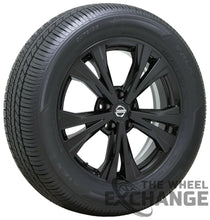 "Load image into Gallery viewer, 18"" Nissan Rogue Black wheels rims tires Factory OEM set 4 62747"