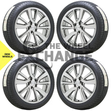 "Load image into Gallery viewer, 19"" Nissan Rogue Sport PVD Chrome wheels rims tires Factory OEM set 4 62748"