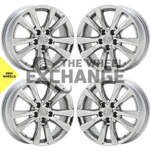 "Load image into Gallery viewer, 17"" Lexus ES350 PVD Chrome wheels rims Factory OEM set 74224 EXCHANGE"