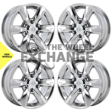 "Load image into Gallery viewer, 18"" Lexus GX460 PVD Chrome wheels rims Factory OEM set 74229 EXCHANGE"