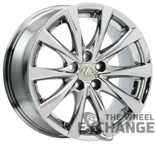 "Load image into Gallery viewer, 18x8.5 Lexus IS250 IS350 PVD Chrome wheel rim Factory OEM 18"" 74282"