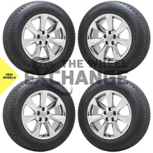 "Load image into Gallery viewer, 18"" Lexus RX350 RX450 PVD Chrome wheels rims tires Factory OEM set 4 74336"