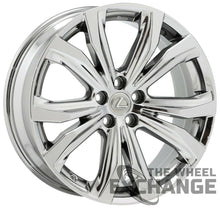 "Load image into Gallery viewer, 20"" Lexus RX350 RX450H PVD Chrome wheels rims Factory OEM set 74338 EXCHANGE"