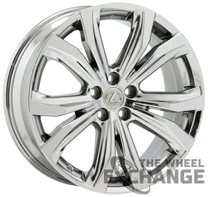 "20"" Lexus RX350 RX450H PVD Chrome wheels rims Factory OEM set 74338 EXCHANGE"