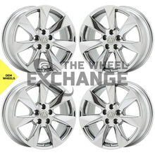 "Load image into Gallery viewer, 18"" Lexus RX350 RX450H PVD Chrome wheels rims Factory OEM set 74336 EXCHANGE"