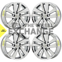 "Load image into Gallery viewer, 18"" Lexus NX300 NX300H PVD Chrome wheels rims Factory OEM set 74372 EXCHANGE"